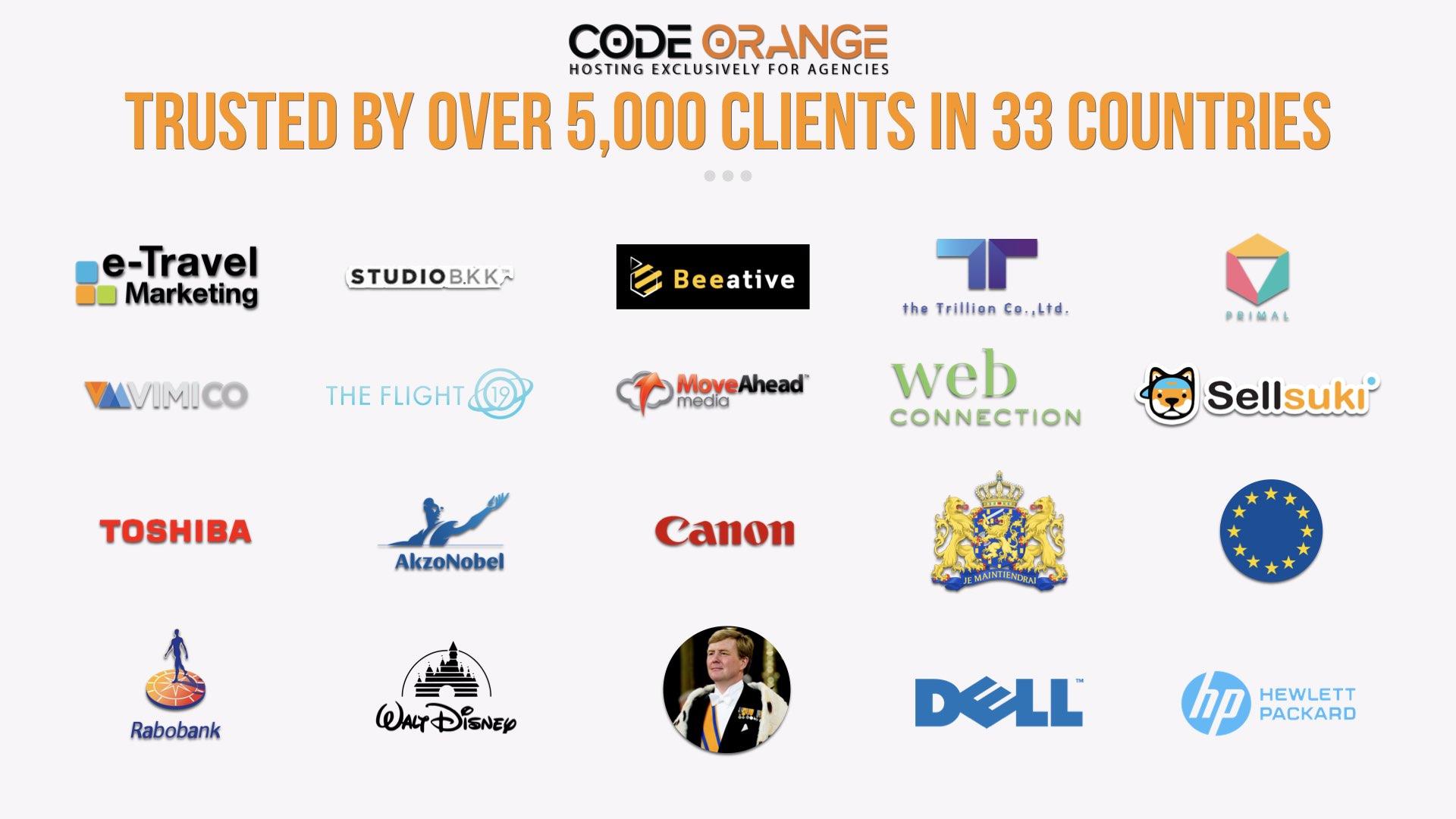 Code Orange Clients