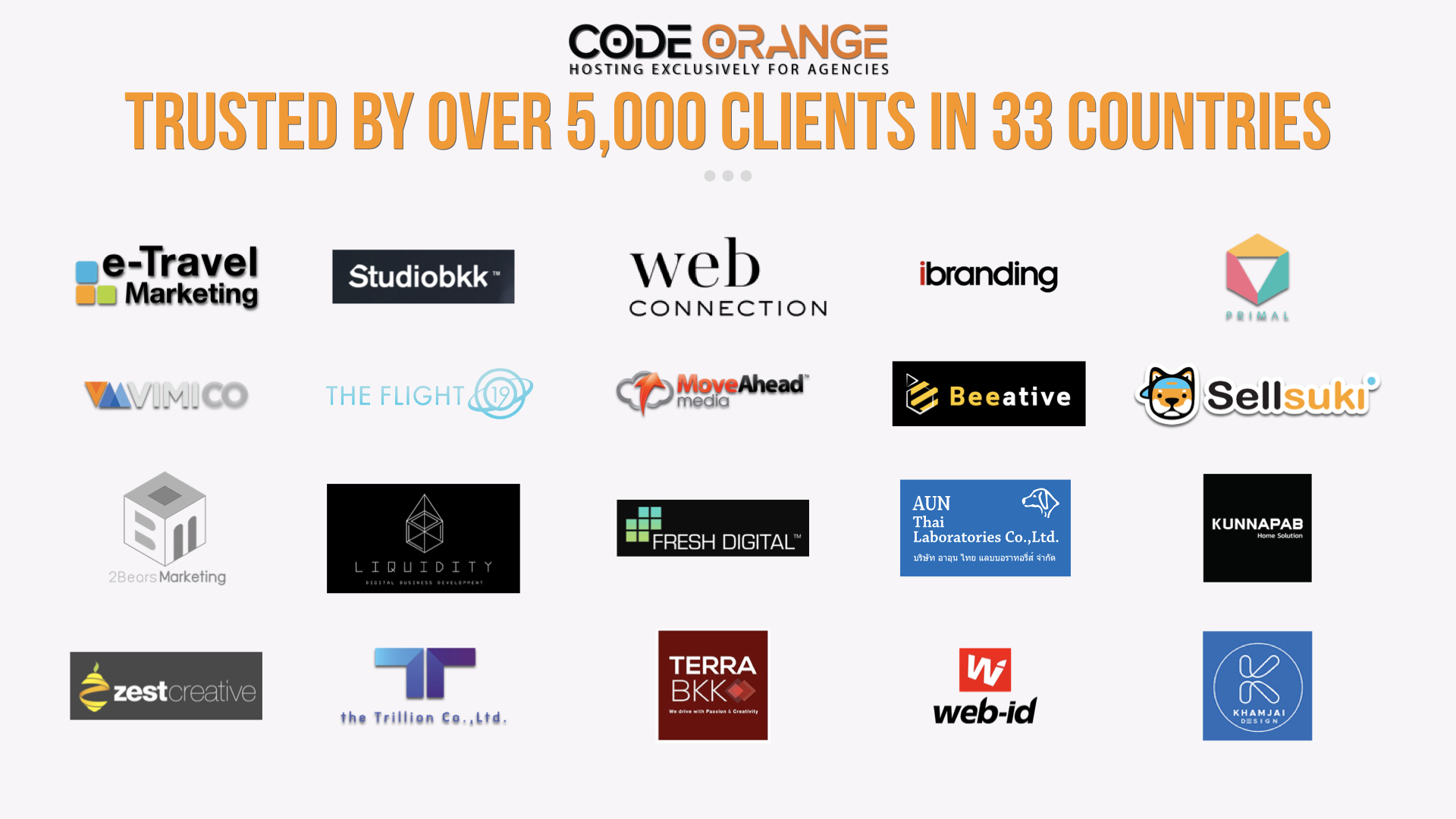 Code Orange Agency Clients